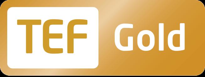 TEF Gold badge